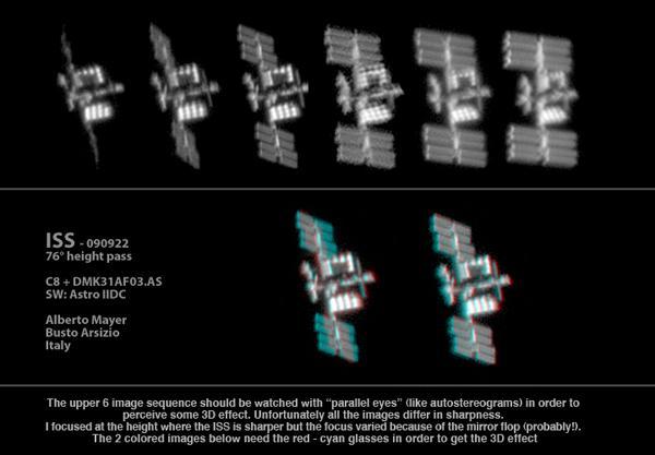 Images époustouflantes d'ISS!