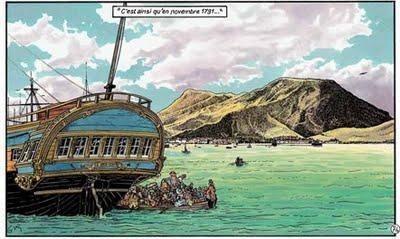 Le Retour des Passagers du Vent de François Bourgeon