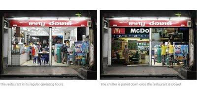 Ambient Marketing en Thaïlande