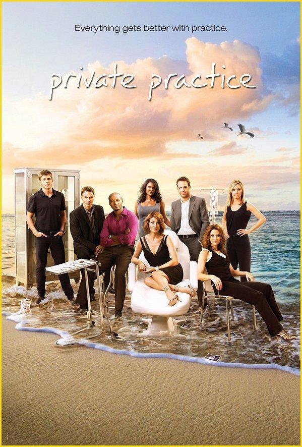 3e saison de PRIVATE PRACTICE : un bol d'air marin, ça vous tente?