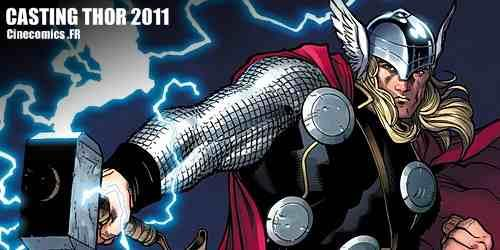 casting du film marvel Thor 2011