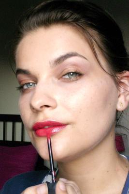 Collection Les Poétiques, le maquillage automne 2009 de Givenchy, le test