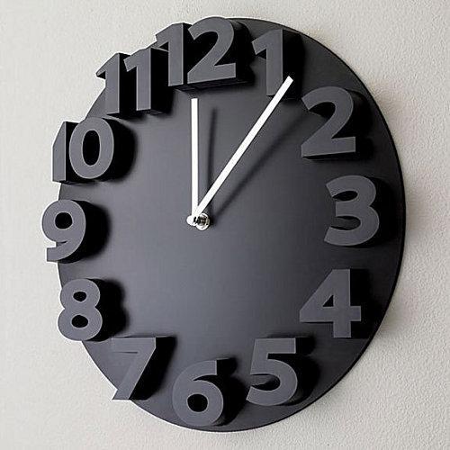 Crate & Barrel clock