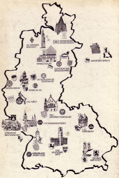 Landkarte~Bundesliga