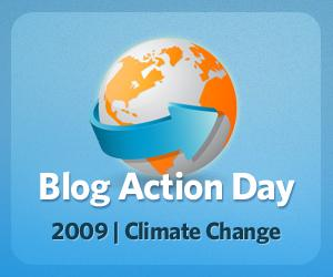 Blog Action Day 09: le climat change