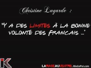 Christine Lagarde: il y a des limite à la bonne volonté des Français ?