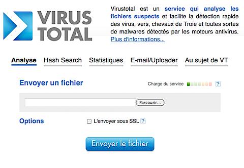 VirusTotal, un antivirus performant en ligne