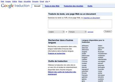 google translate, traduction, etourisme, e-tourisme, internet et tourisme, web tourisme, office de tourisme