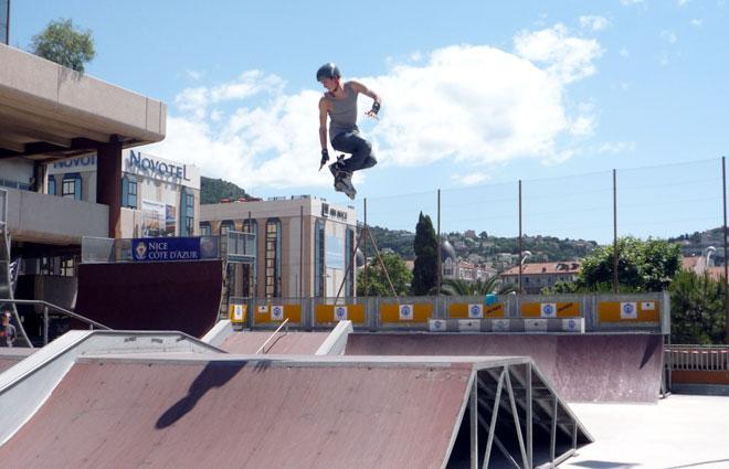 Le rollerpark Jean Bouin de Nice (06)