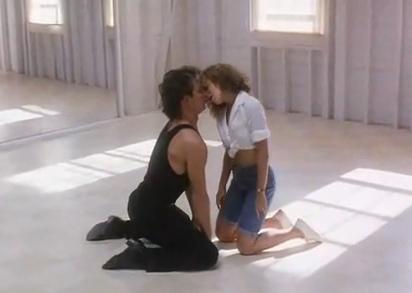 Patrick Swayze et Jennifer Grey dans Dirty Dancing