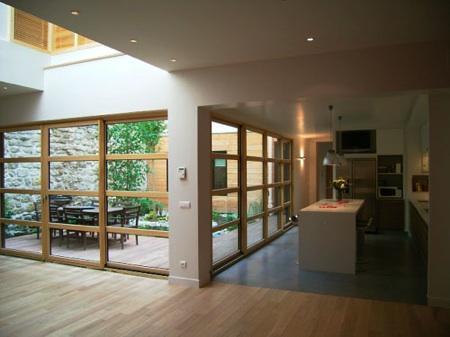 Maison Loft bois sur Paris
