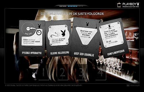 Playboy fragrances for men...