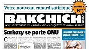Tags : Bakchich hebdo, Bakchihc info, Canard Enchaîné, blogs, journal Vendredi, Maud pas nue,