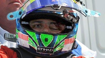 Crash en F1