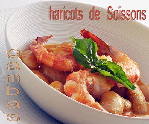 VELOUTE DE CRUSTACES AUX HARICOTS DE SOISSONS