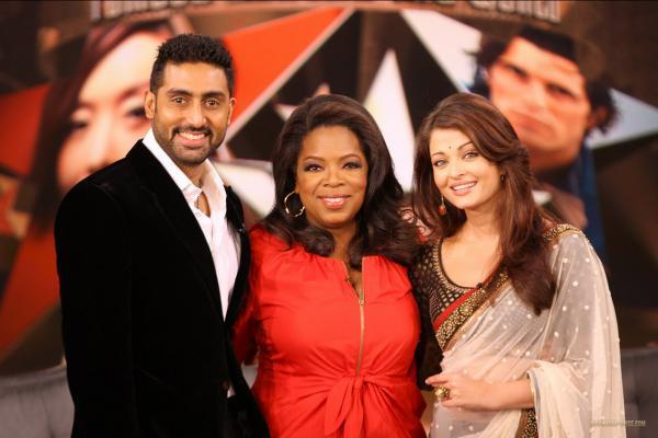 Aishwarya & Abhishek chez Oprah (la promo)