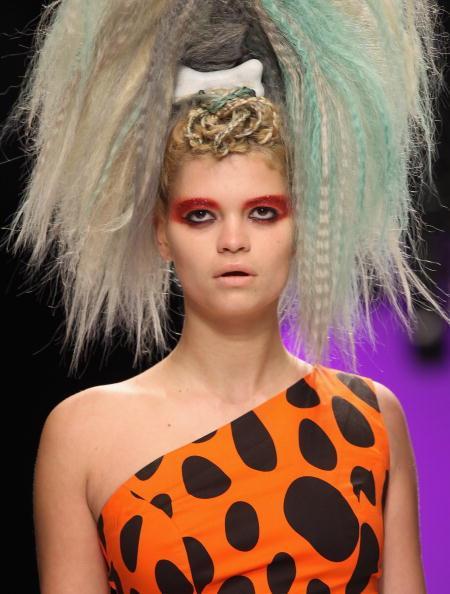 Jeremy Scott Runway: Spring/Summer 2010 - London Fashion Week
