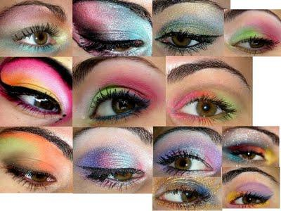 Concours de maquillage: Couleurs improbables, la proposition de Myriam