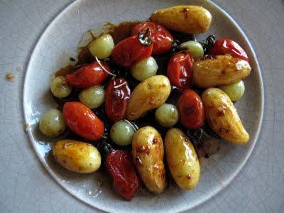 Poelée de petits légumes confits à la vanille