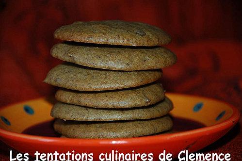 Biscuits moelleux dattes, amande, orange