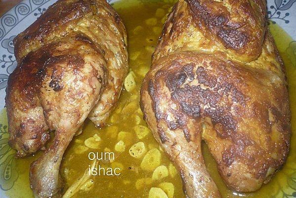 Poulet rôti à la moutarde