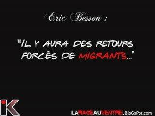 Besson confirme des retours forcés de migrants...