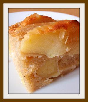 Gâteau aux pommes sain et léger