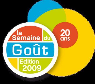 Préparez vous pour la semaine du goût (10 au 18 octobre 2009)