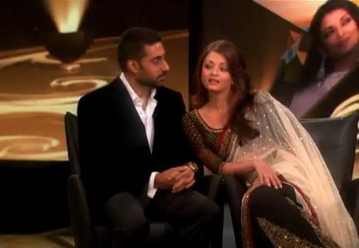Aishwarya Rai Bachchan et Abhi au Ophra Show