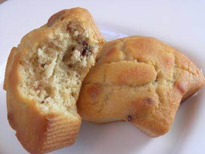 Petits muffins au sirop d'érable et noix de pécan