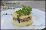 Parmentier de thon et poivron
