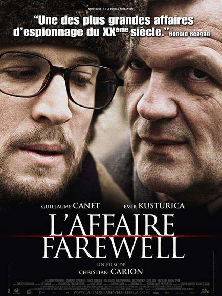 Christian Carion dans L'Affaire Farewell (Affiche)