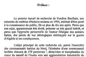 Histoire des Harkis du nord de la France...