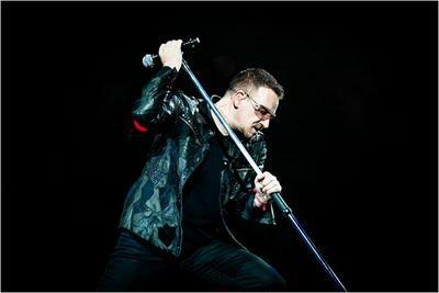 Bono en concert à New York ..