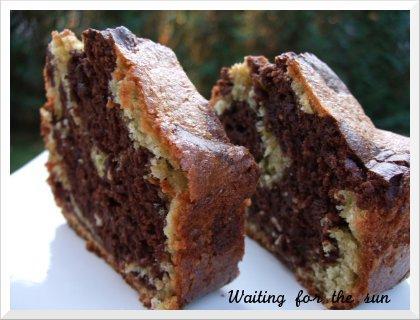 Cake choco pistaches