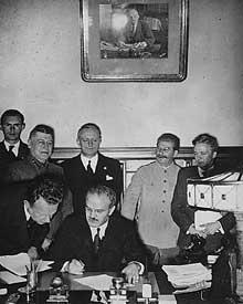Septembre 1939: pacte