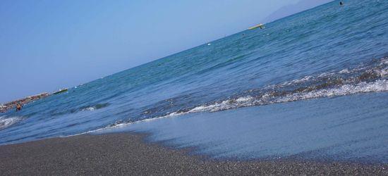 Santorin plage
