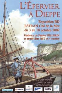 L'Epervier de Patrice Pellerin s'expose à Dieppe