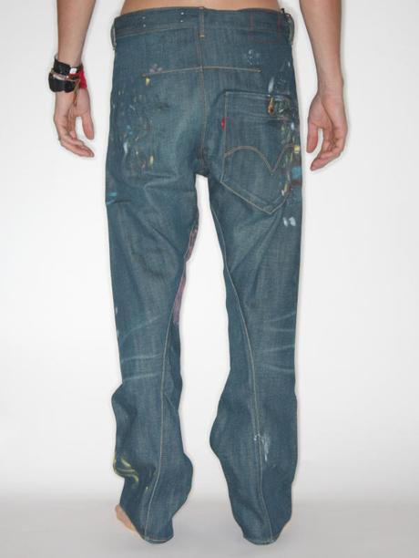 LEVI'S ENGINEERED JEANS FIRST STANDARD 10TH BLAST JEANS