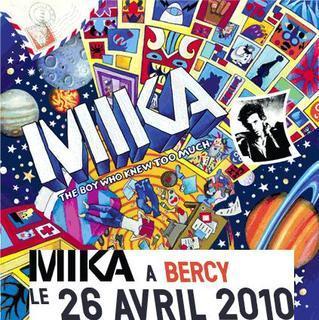 Mika, Les dates de la tournée annoncées