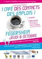 A vos agendas : Café Contact Solidaire le 8 octobre 2009 à FEGERSHEIM