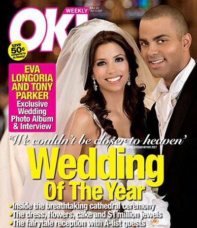 Eva Longoria et Tony Parker ... un 2eme mariage !!