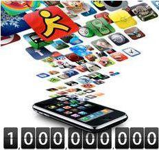2 milliards d'applications téléchargées sur l'AppStore