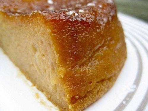 Le Gâteau-flan aux pommes et au pif...