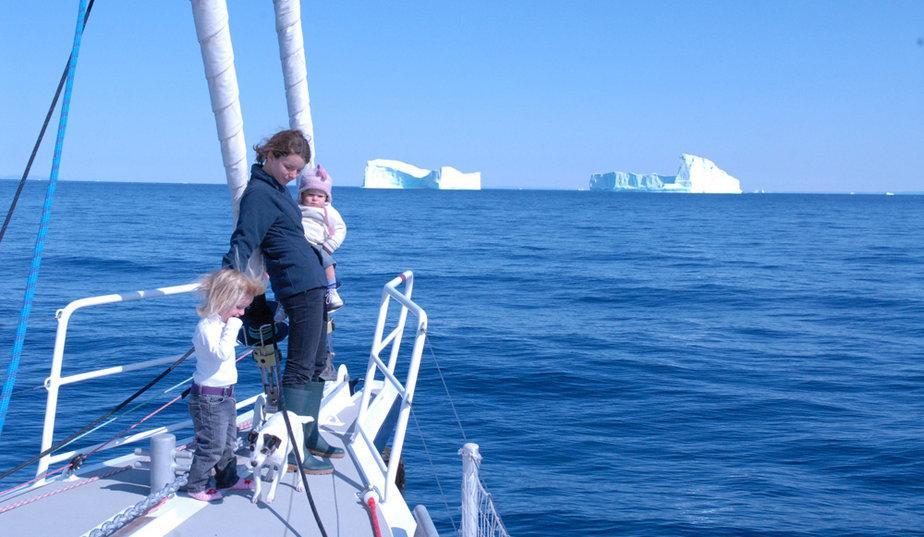 En famille au Pôle Nord
