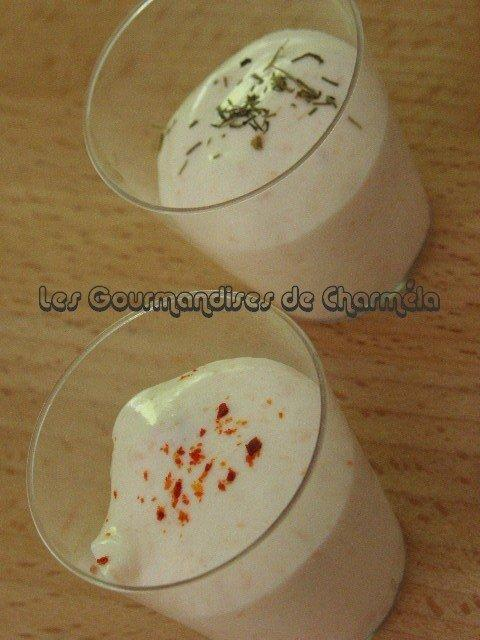Chantilly au Saumon Fumé