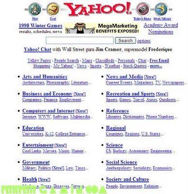 La jeunesse de Facebook, Hotmail & Yahoo