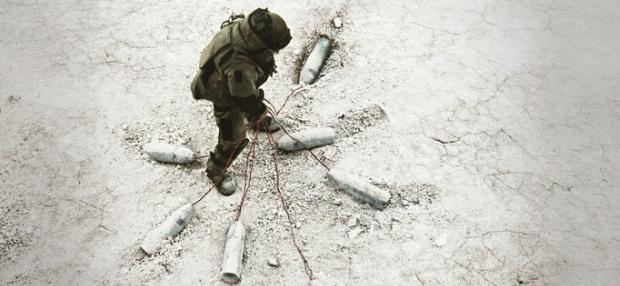 On a marché sur l'Irak