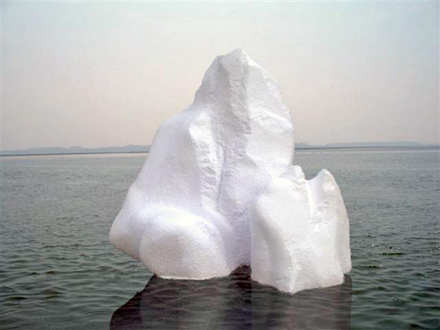 Pour décor de neige ou hiver : iceberg
