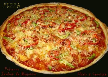 Pizza_Jambon_Poivron_ChairSaucisse